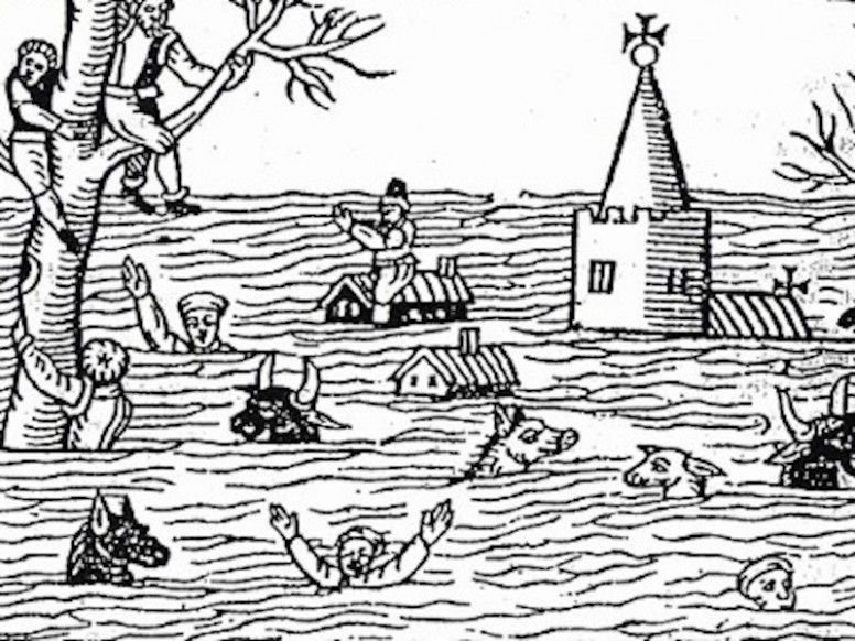Historic Events: The Bristol Channel Floods of 1607