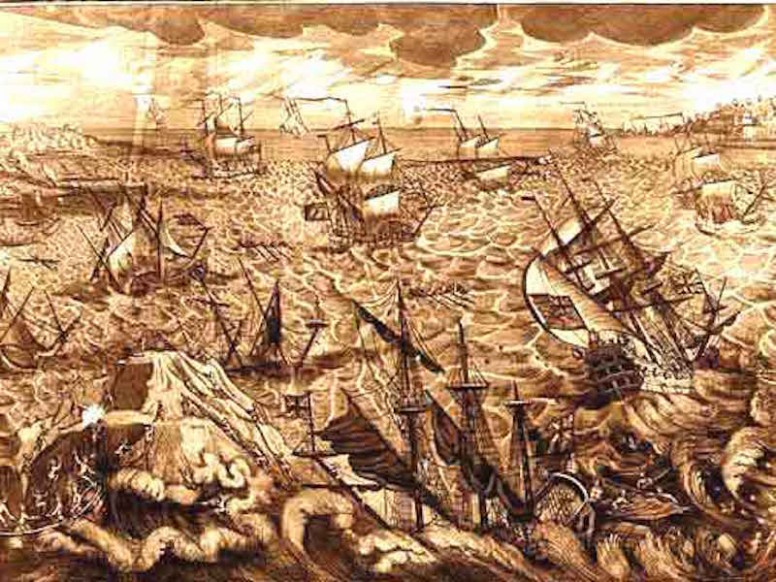 Historic Events: The storm of 7-8 December 1703.