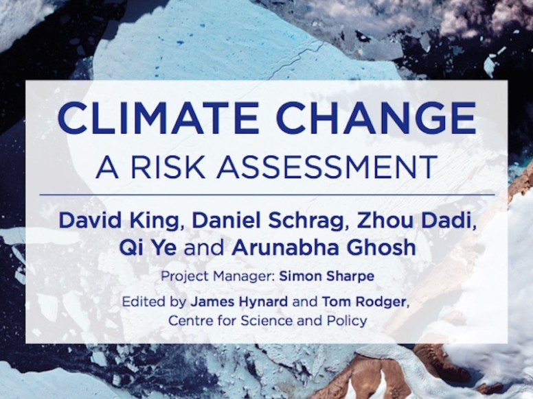 New Report on Climate Change Risk Assessment