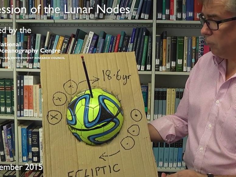 The Regression of Lunar Nodes, by Professor Kevin Horsburgh