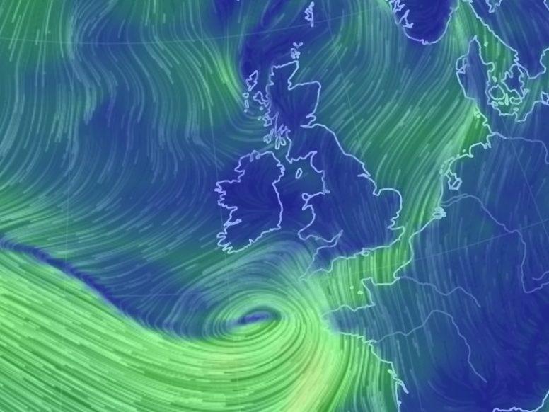 Storm Angus on the way