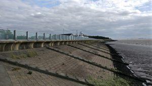 Flood defence installation, Paull coastline. Image credit: Hardy Services